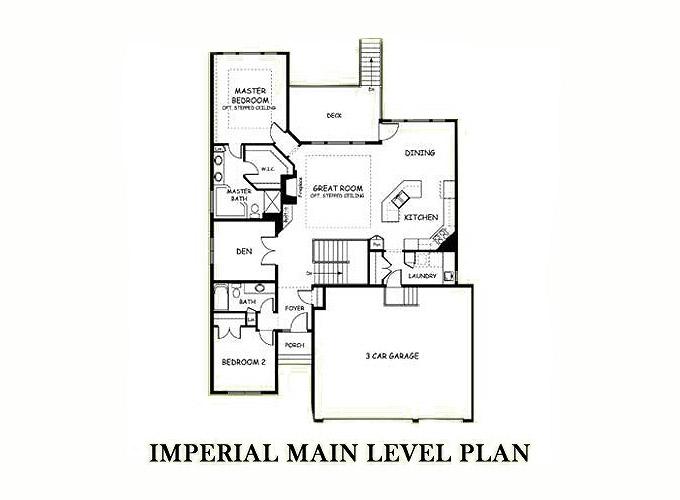 Rambler floor plans castle series imperial for Rambler floor plans mn