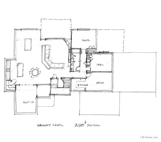 Walkout Floor Plan