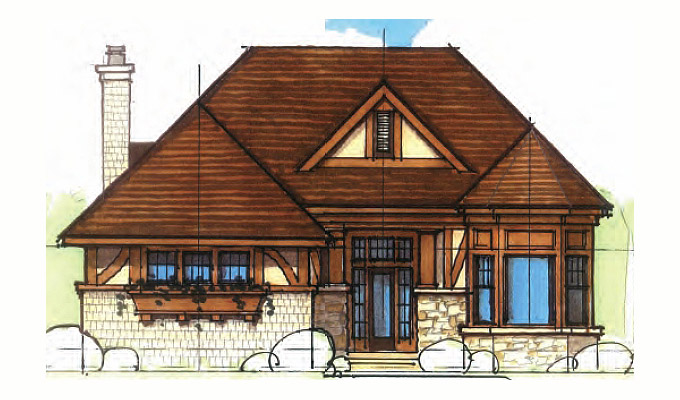 Kilworth Manor Home Plan Front Option A