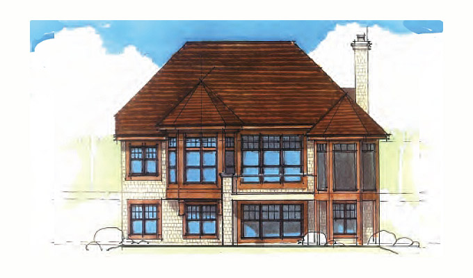 Kilworth Manor Home Plan Front Option B