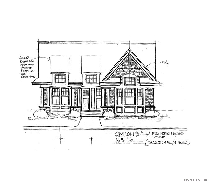 Laura TJB Plan #387 Front Option A