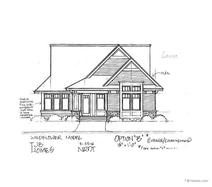 Laura TJB Plan #387 Front Option B