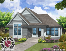 Rambler Villa Showcase Home Plans