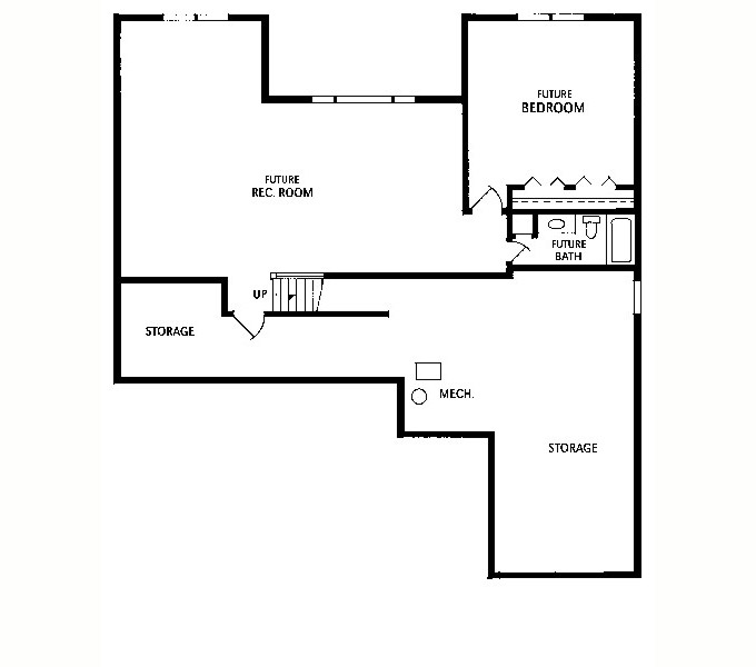 Oldham #2008-1 Lower Level Plan