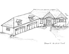 Main Floor Master Rambler Over 2000 Sq Ft TJB #2020072 Home Plan