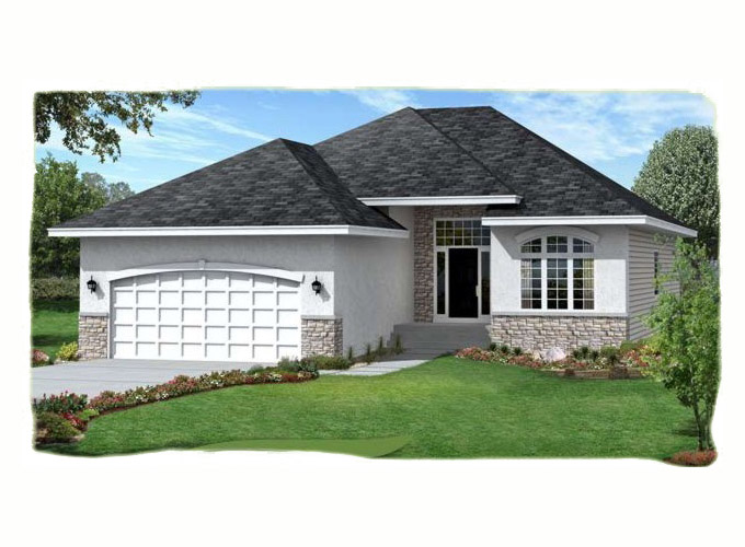 PEGGY Home Plan Front