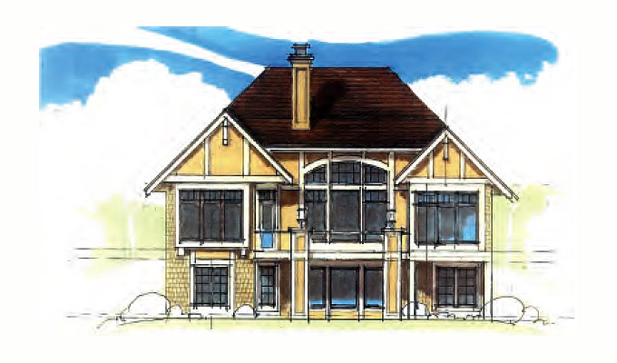 Prestwock Manor Home Plan Front Option B