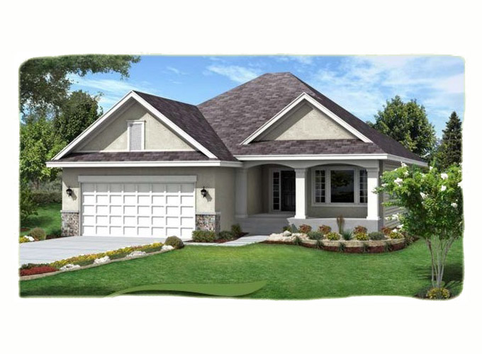 SHELBY Home Plan Front