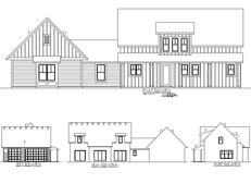 TJB #490 Farmhouse Home Plan