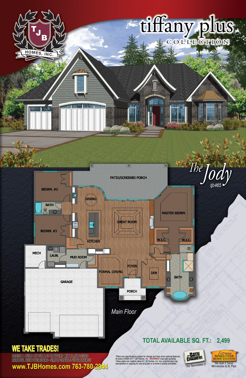 Home Plan Jody #465