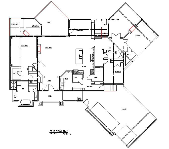 Rambler Floor Plans Plan 260 TJB Homes
