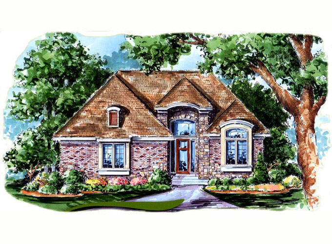 WICKHAM Home Plan Front