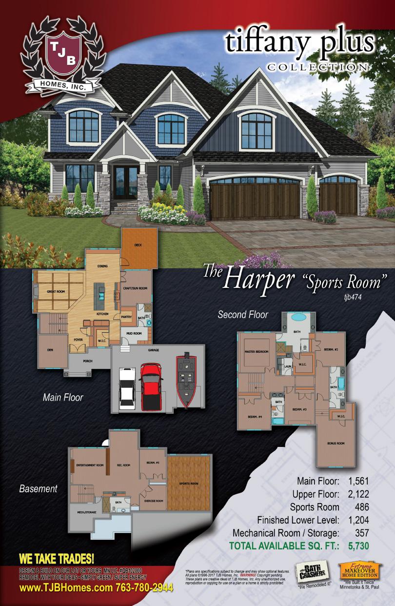 Indoor Sports Room Plan 5 Bedroom 4 Bathroom 3 Car Garage
