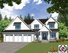 Indoor Sports Room® HIGHLAND II Home Plan #525