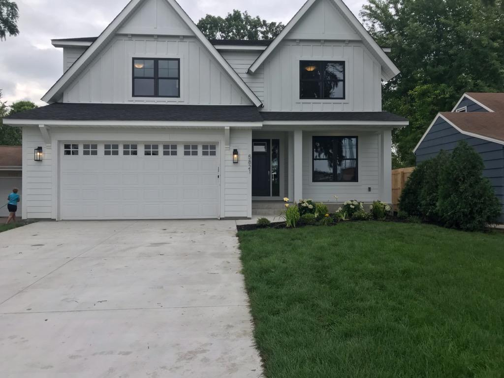 5 bedrooms 5 baths home with front porch