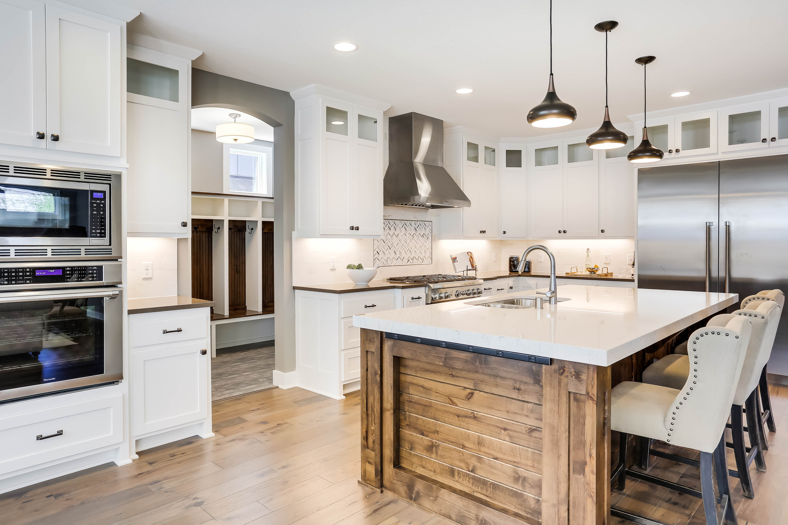 Edina Custom Home Kitchen