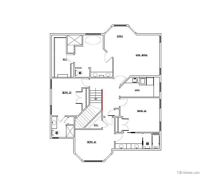 LEICHESTER SECOND FLOOR PLAN
