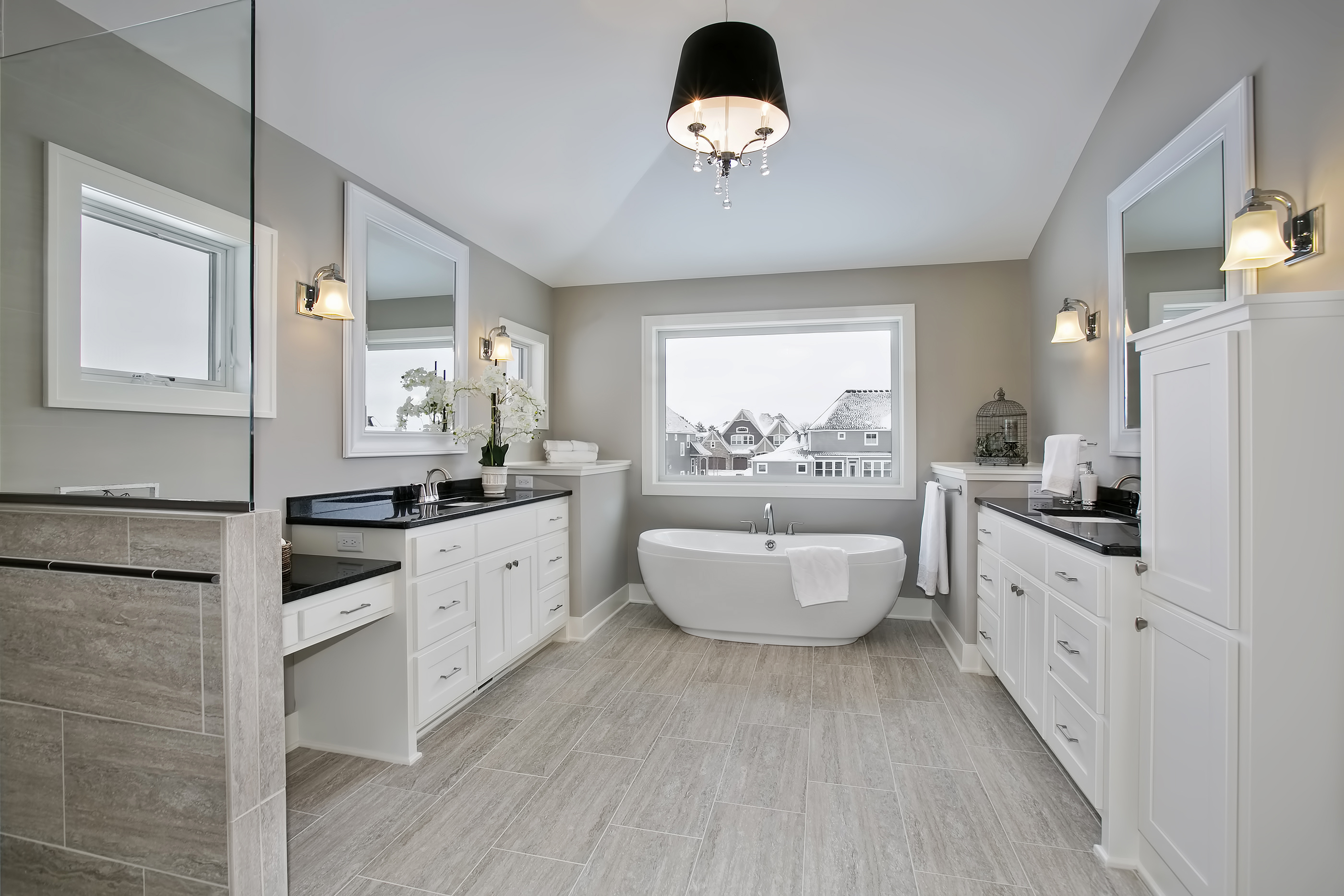 Stunning Master Bathroom