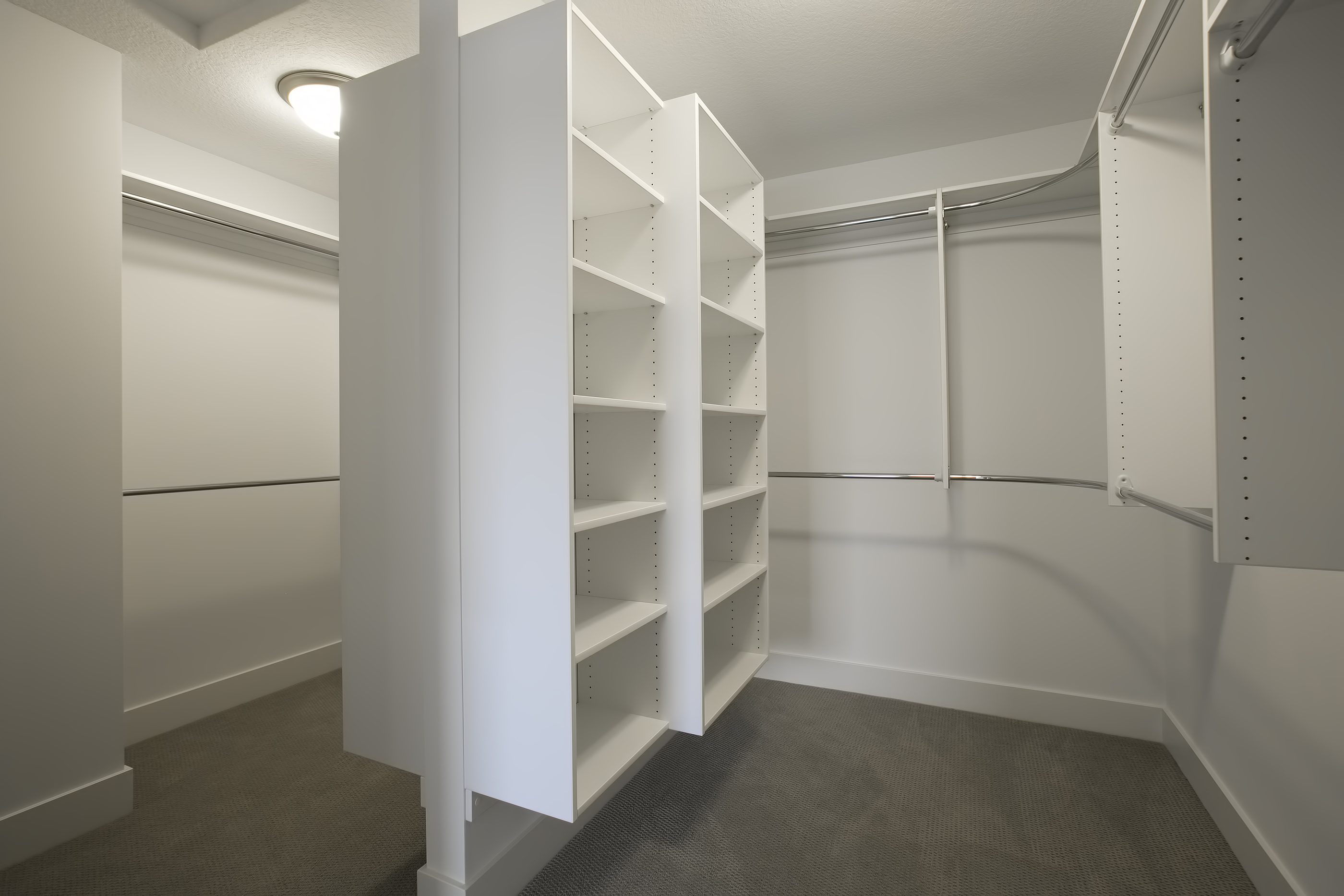 Owner's Wrap Around Master Closet