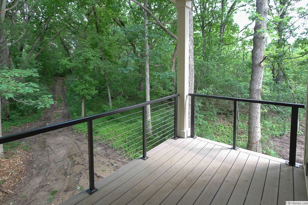 Private Covered Deck off Master Suite