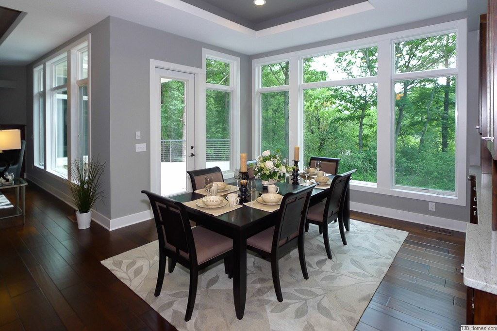 Dining Room with Extra Tall Windows